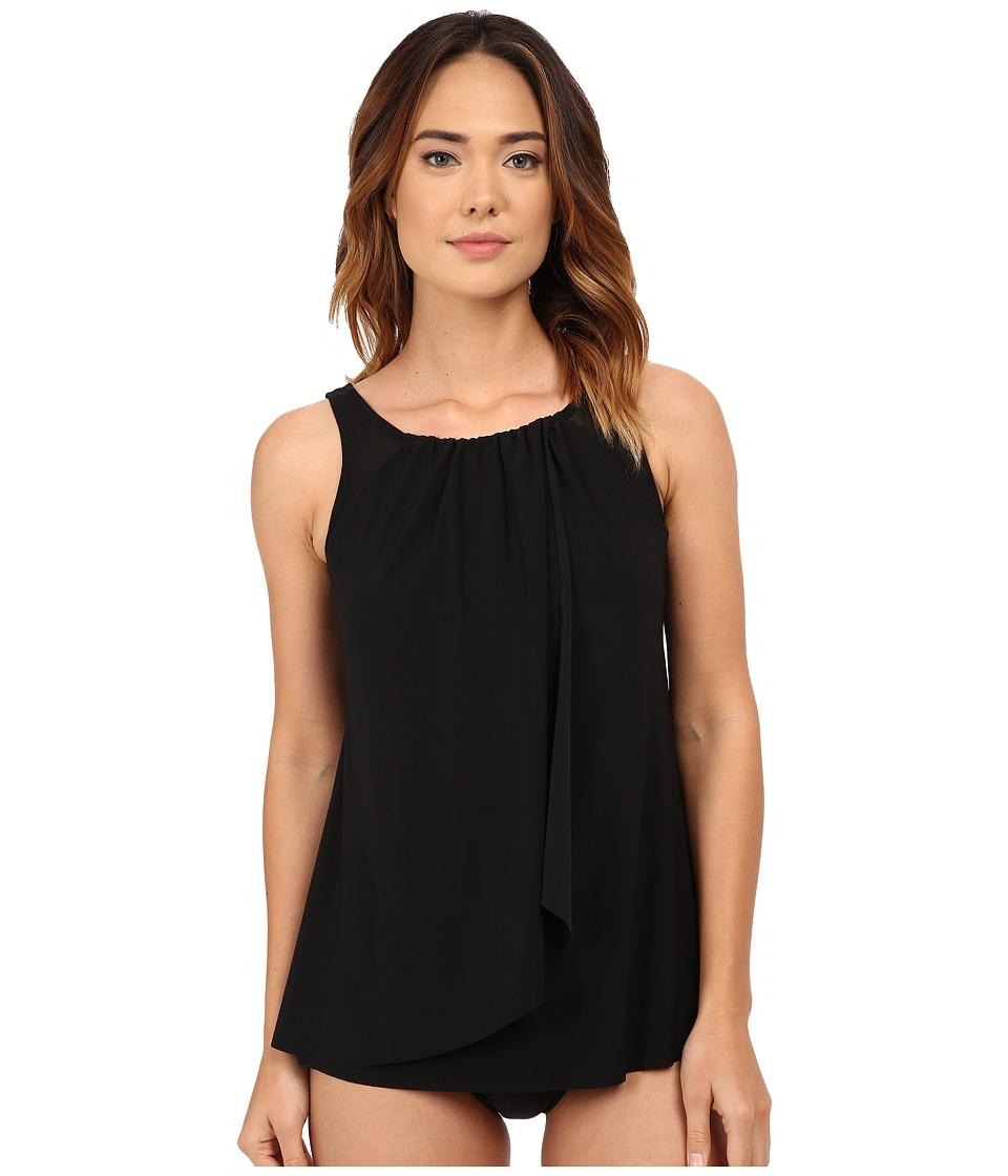 Miraclesuit - Network Mariella Tankini Top (Black) Women's Swimwear