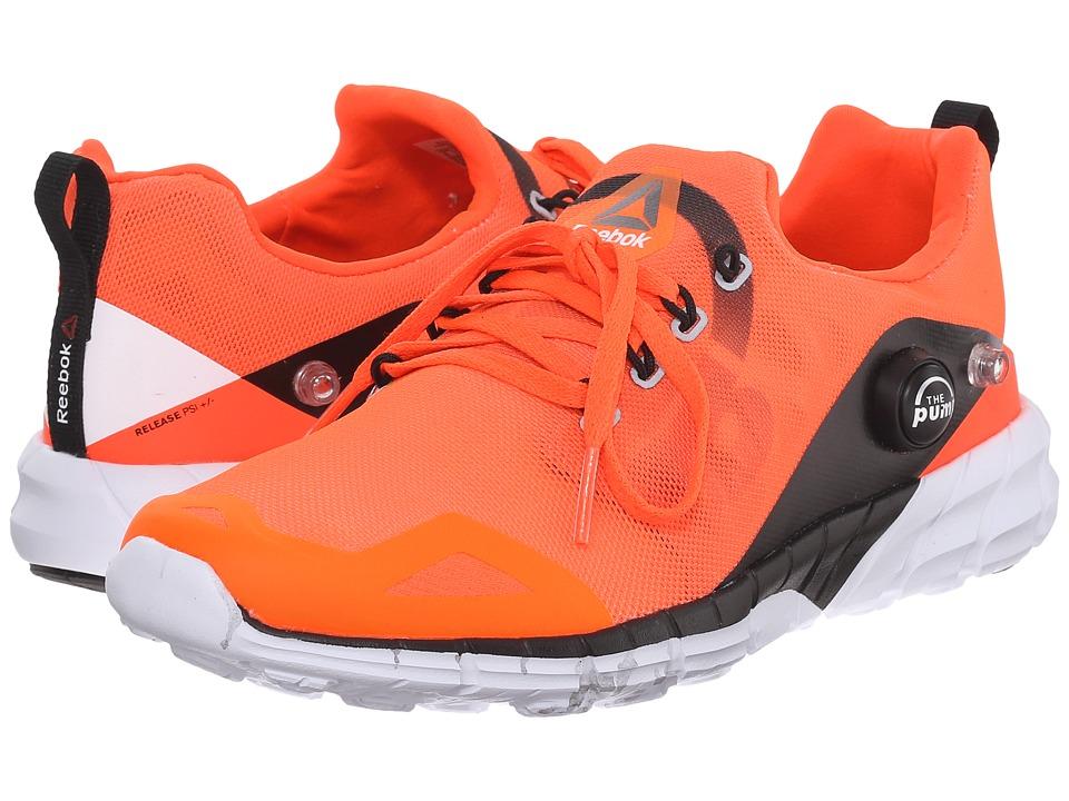 Reebok Kids - ZPump Fusion 2.0 (Little Kid/Big Kid) (Atomic Red/Electric Peach/Energy Orange/Black) Girls Shoes