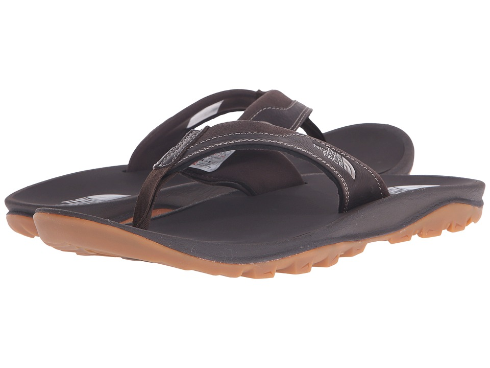 The North Face - Hedgehog 3-Point (Demitasse Brown/Cub Brown) Men's Sandals