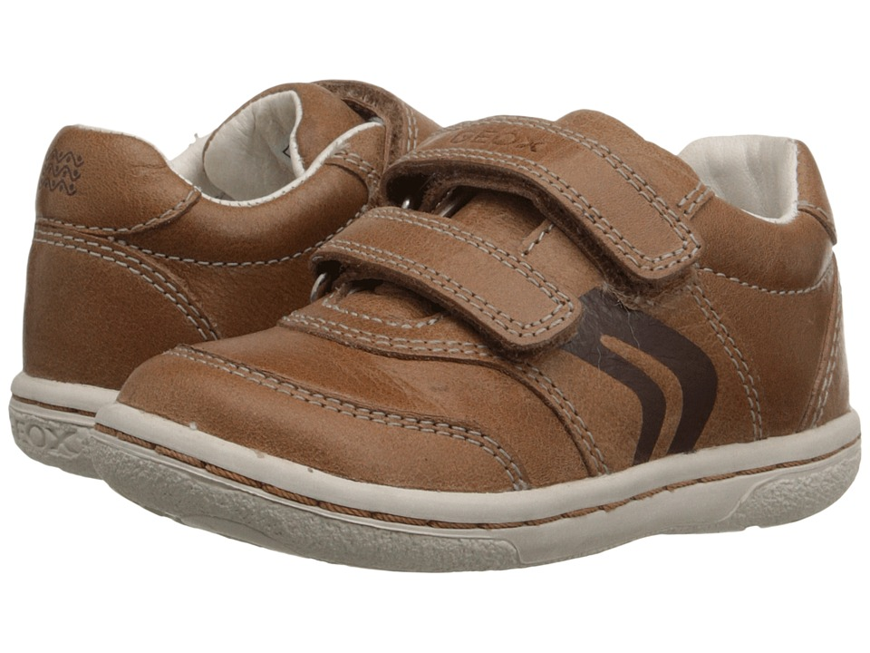 Geox Kids - Baby Flick Boy 42 (Toddler) (Caramel) Boy's Shoes