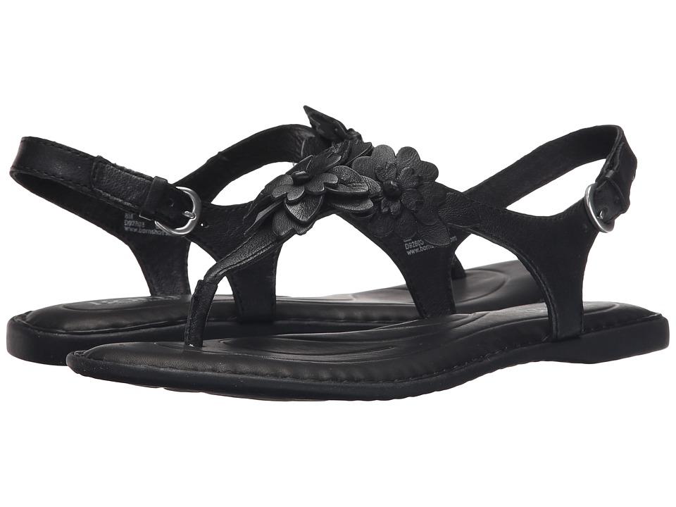 Born D'Anna (Black Full Grain Leather) Women's Sandals
