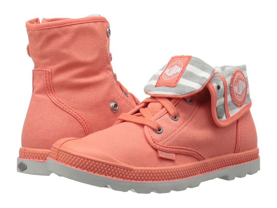 Palladium Kids - Baggy Zipper CVS LP (Little Kid) (Emberglow/Wild Dove/Vapor) Girl's Shoes