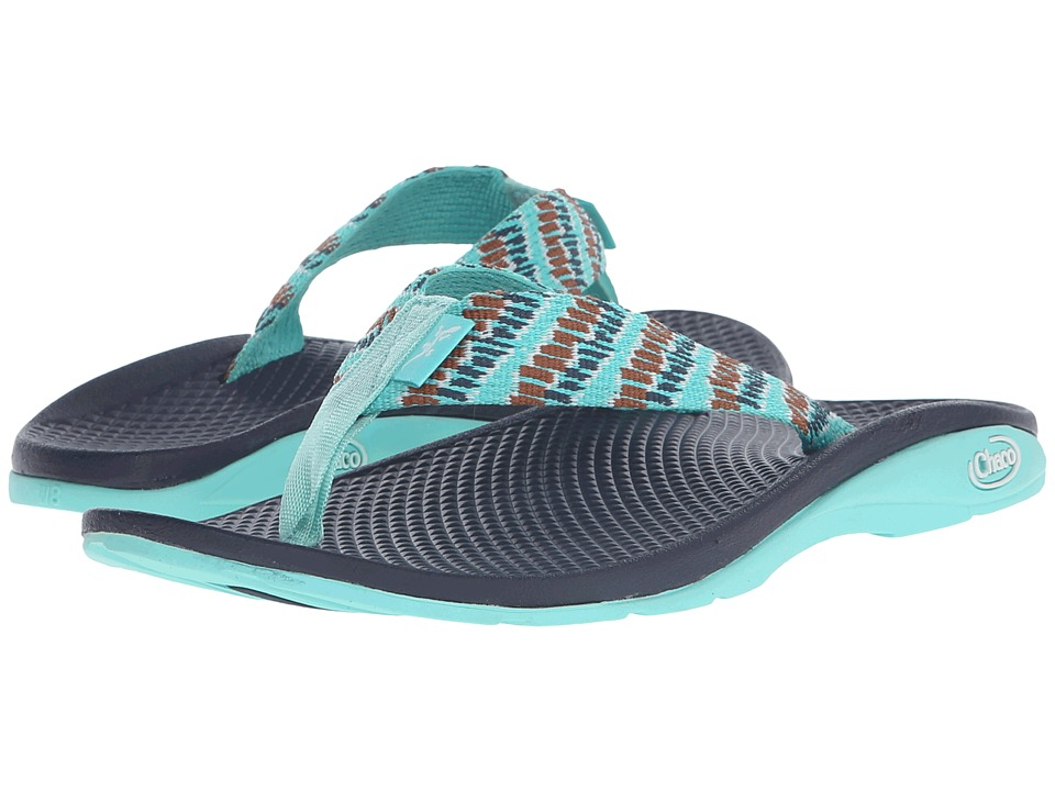 Chaco - Flip EcoTread (Aqua Steps) Women's Shoes