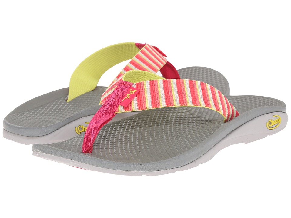 Chaco - Flip EcoTread (Basket Rouge) Women's Shoes