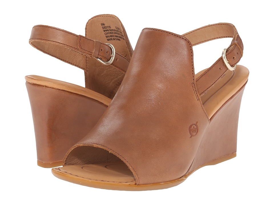 Born Bevi (Tan Full Grain Leather) Women