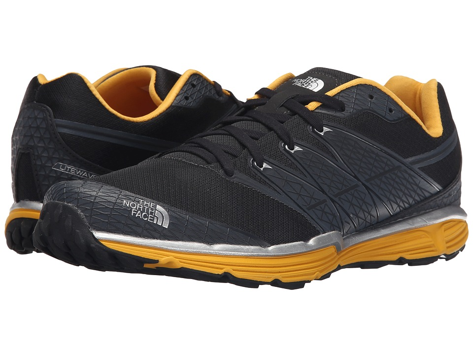 The North Face - Litewave TR (Phantom Grey/TNF Yellow) Men's Running Shoes