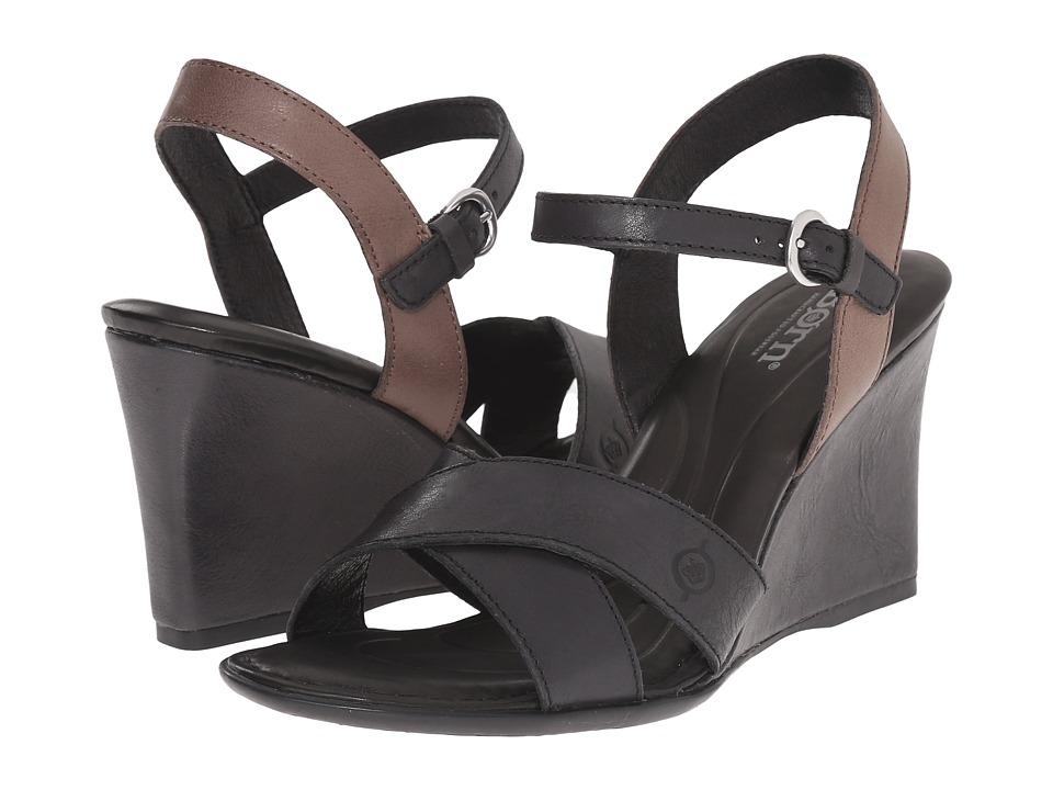 Born Hamada (Black/Grigio Full Grain Leather) Women
