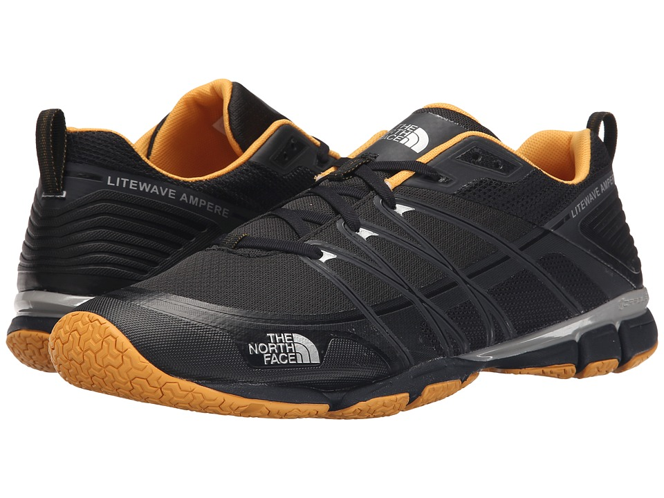 The North Face - Litewave Ampere (Phantom Grey/TNF Yellow) Men's Shoes