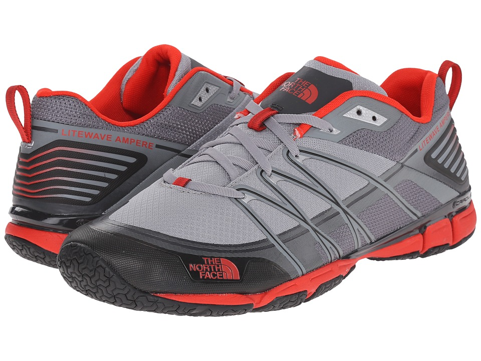 The North Face Litewave Ampere (Monument Grey/Fiery Red) Men