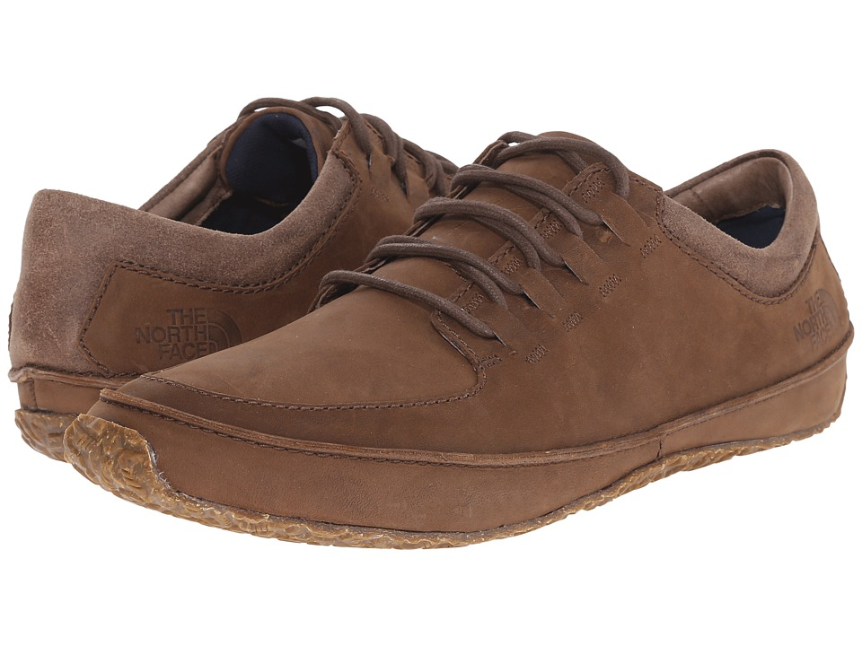 The North Face - Bridgeton Lace (Grey Taupe/Cosmic Blue (Prior Season)) Men's Lace up casual Shoes
