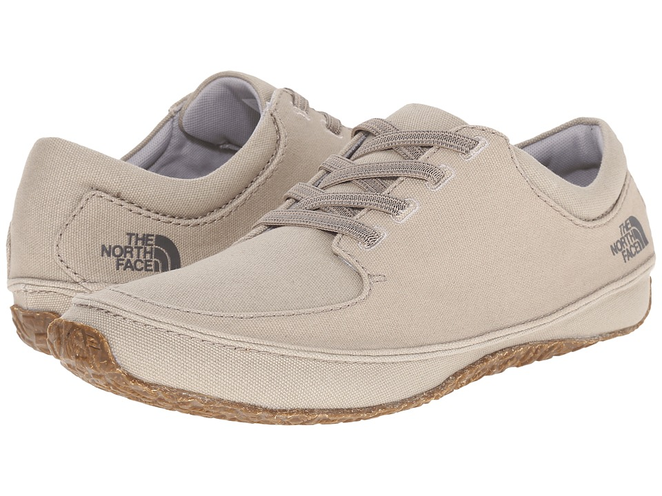 The North Face - Bridgeton Lace Canvas (Plaza Taupe/Moonlight Ivory) Men's Lace up casual Shoes