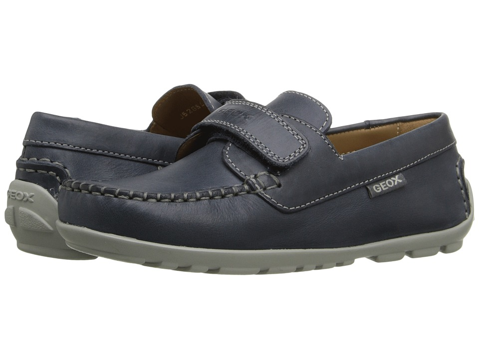 Geox Kids - Jr Fast 20 (Little Kid) (Navy) Boy's Shoes