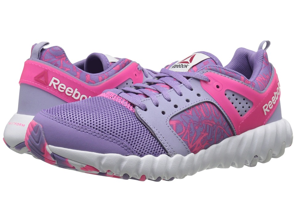 Reebok Kids - Twistform 2.0 (Big Kid) (Smoky Violet/Moon Violet/Solar Pink/White) Girls Shoes