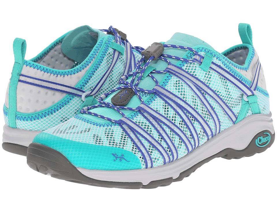Chaco - Outcross Evo 1.5 (Aqua) Women's Shoes