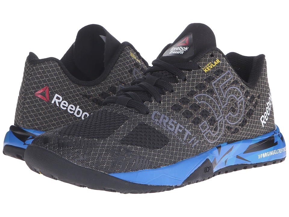 Reebok Kids - Crossfit Nano 5.0 (Big Kid) (Black/Blue Sport/Electric Blue/Shark) Boys Shoes