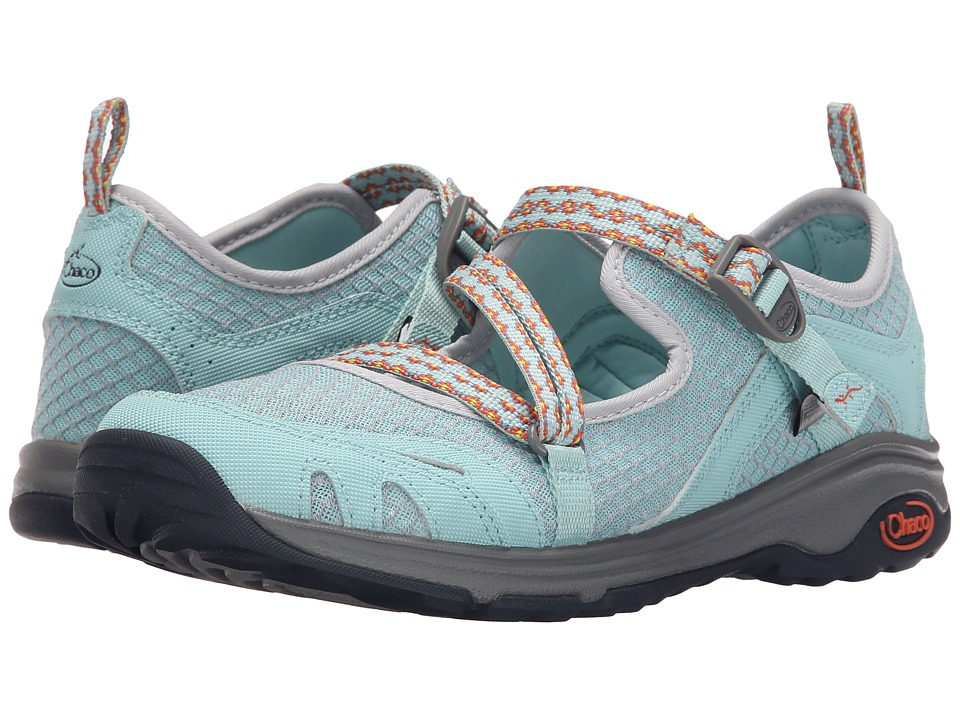 Chaco - Outcross Evo MJ (Quito Blue) Women's Maryjane Shoes
