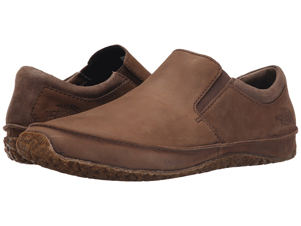 The North Face - Bridgeton Slip-On (Grey Taupe/Cosmic Blue (Prior Season)) Men's Slip on Shoes