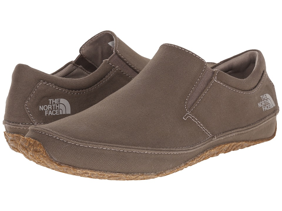 The North Face Bridgeton Slip-On Canvas (Shroom Brown/Vintage Khaki) Men