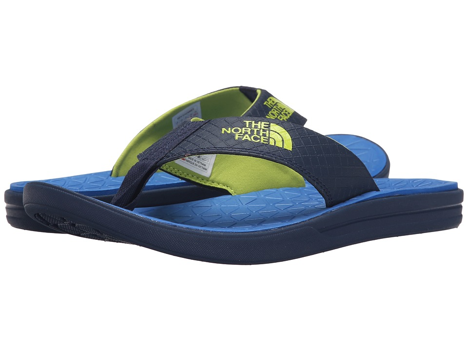 The North Face - Base Camp Lite Flip Flop (Cosmic Blue/Latern Green) Men