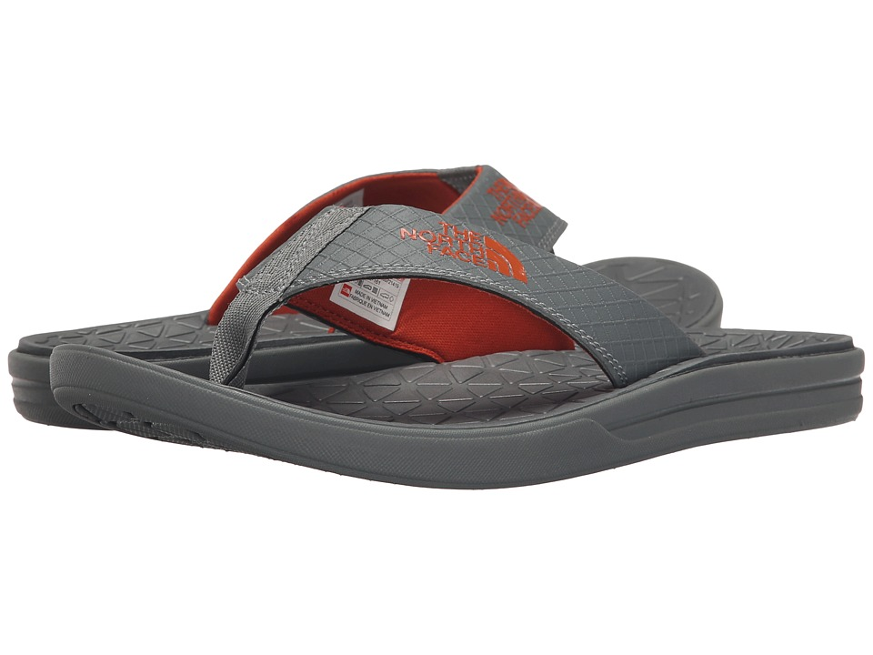 The North Face - Base Camp Lite Flip Flop (Graphite Grey/Orange Rust (Prior Season)) Men's Sandals