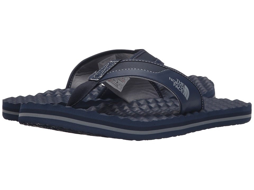 The North Face - Base Camp Plus Flip Flop (Cosmic Blue/Monument Grey) Men's Sandals