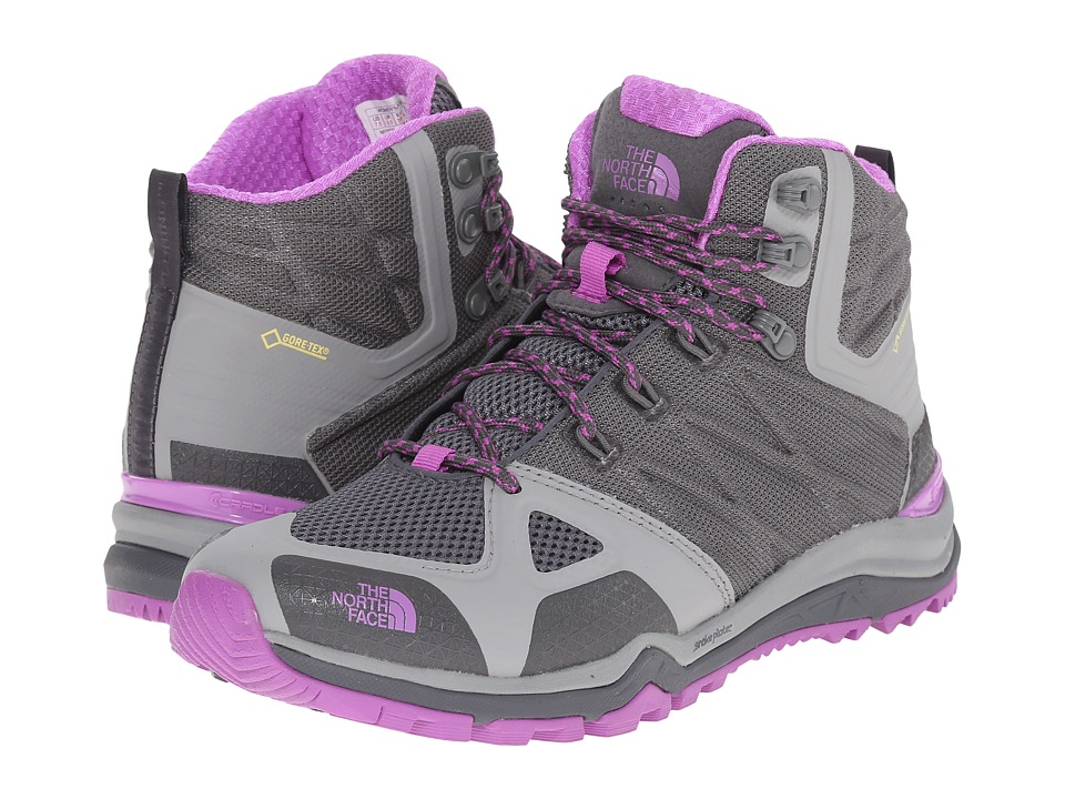 The North Face - Ultra Fastpack II Mid GTX(r) (Zinc Grey/Sweet Violet) Women's Hiking Boots