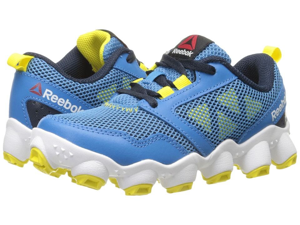 Reebok Kids - ATV19 3.0 (Little Kid) (Electric Blue/Collegiate Navy/Yellow Spark/White/Black) Boys Shoes
