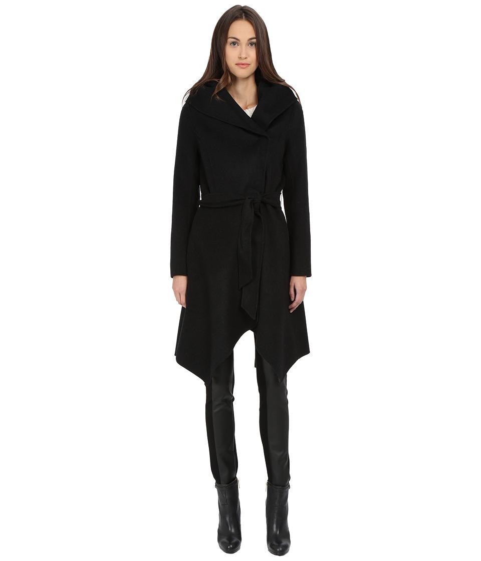ZAC Zac Posen - Sophia Wool Wrap (Anthracite Melange) Women's Coat
