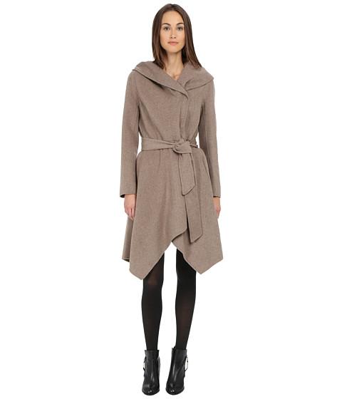 ZAC Zac Posen - Sophia Wool Wrap (Taupe Melange) Women's Coat