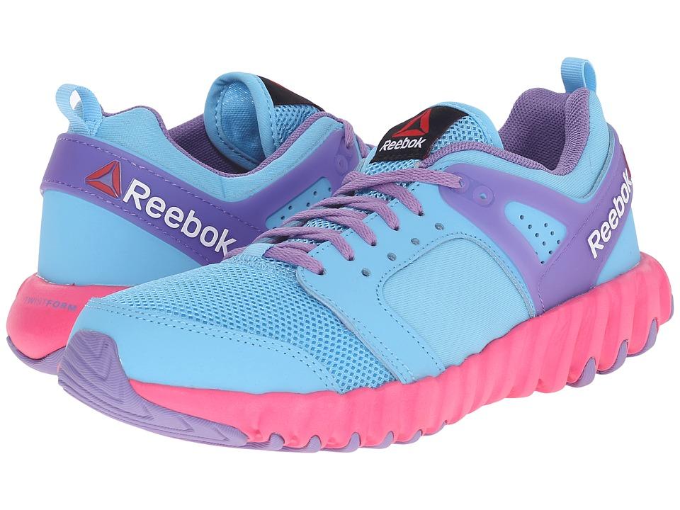 Reebok Kids - Twistform 2.0 (Little Kid) (Blue Splash/Smoky Violet/Solar Pink) Girls Shoes