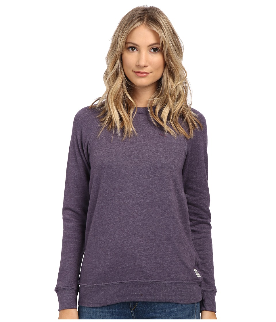 Obey - Tri-Blend Raglan Crew (Nightshade) Women's Sweater