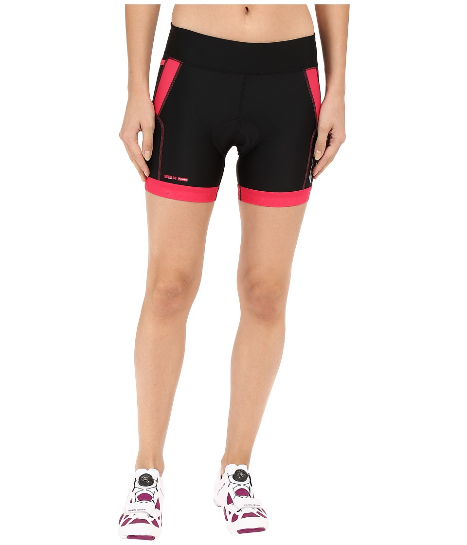2XU - Perform 4.5 Tri Shorts (Black/Cherry Pink) Women's Shorts