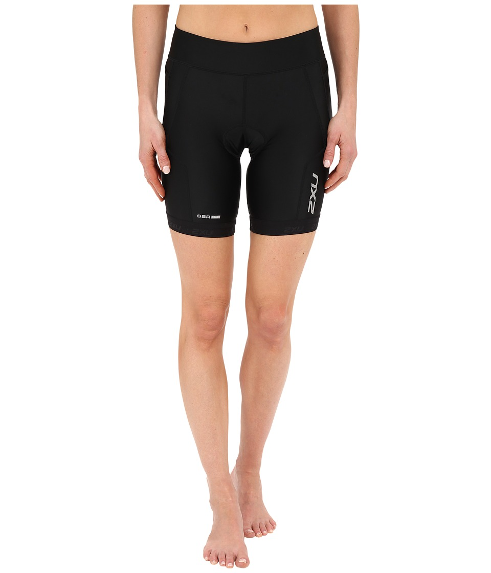 2XU - Perform 7 Tri Shorts (Black/Black) Women's Shorts