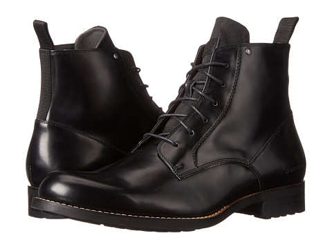 G-Star - Manor Drydon Hi (Black) Men's Lace-up Boots