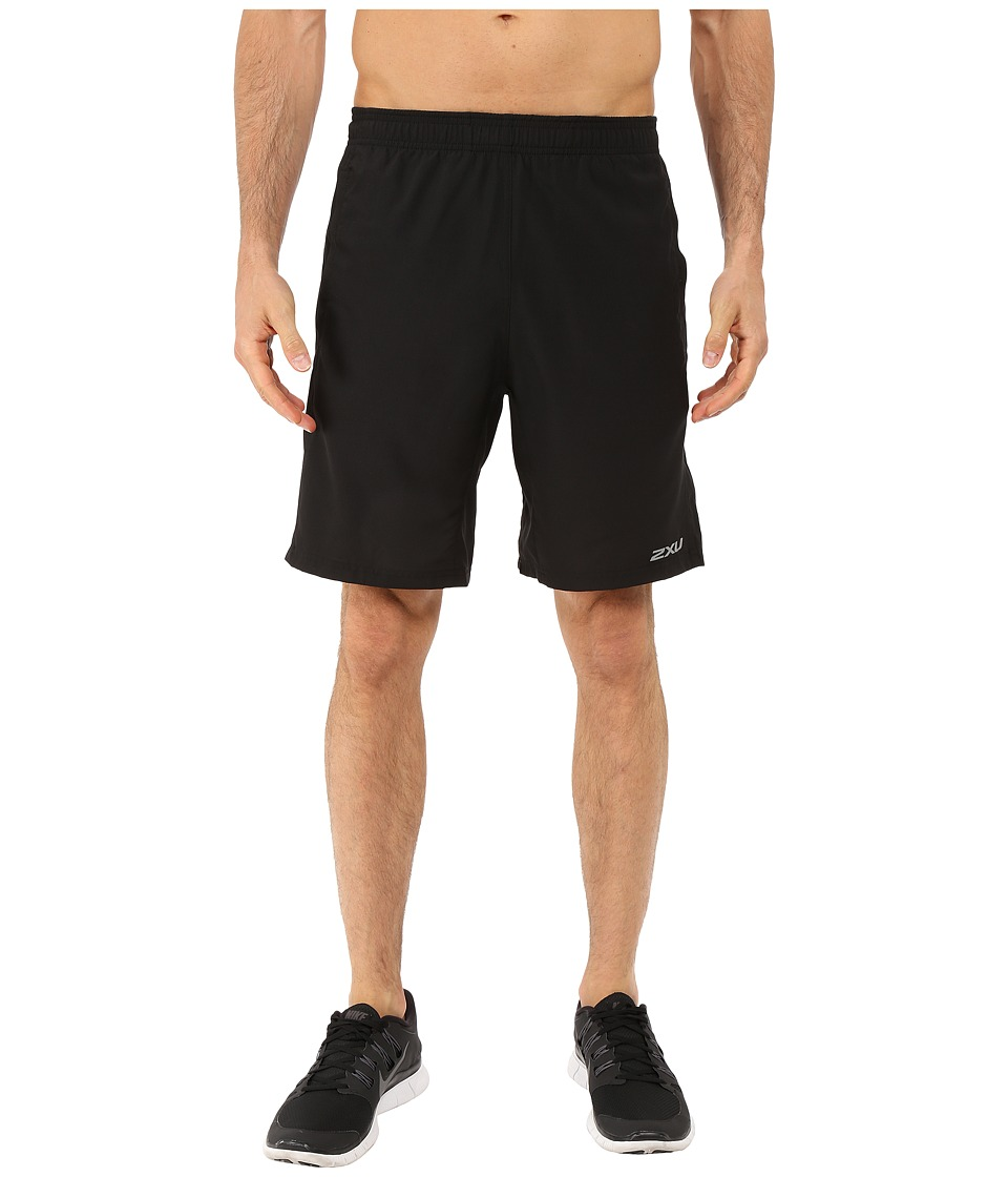 2XU - Pace Shorts (Black/Black) Men's Shorts