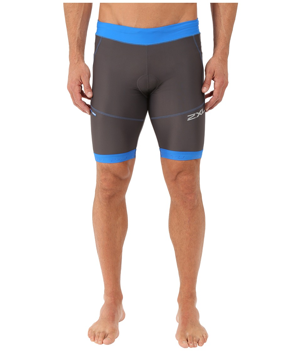 2XU - Perform 9 Tri Shorts (Ink/Cobalt Blue) Men's Shorts