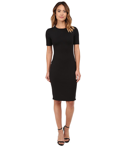 Brigitte Bailey - Kristina Side Zip Dress (Black) Women's Dress