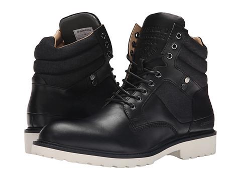 G-Star - Barrage Quadrant Mix (Black) Men's Lace up casual Shoes