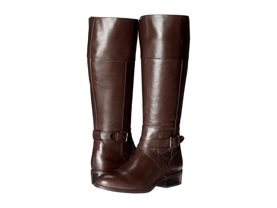 LAUREN Ralph Lauren Maryann (Dark Brown Burnished Calf) Women