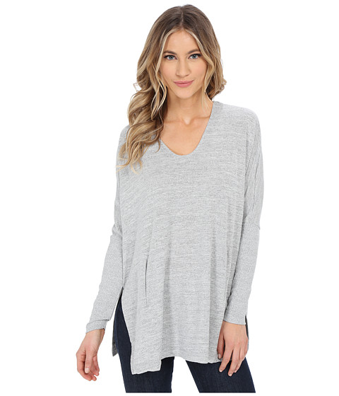 Brigitte Bailey - Katia Sweater (Silver) Women's Sweater