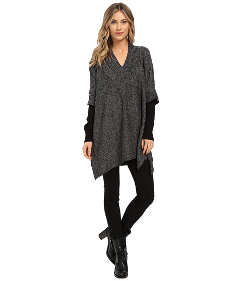 Brigitte Bailey - Knikki Twofer Sweater (Grey/Black) Women
