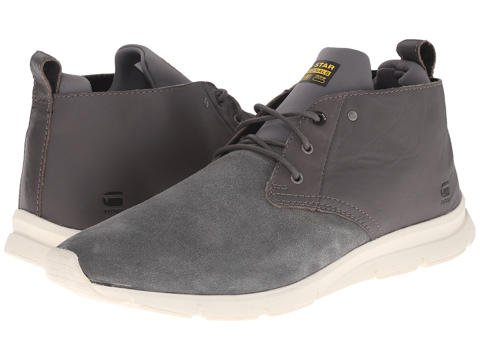 G-Star Chaser Barricade Hi Grey Mens Lace up casual Shoes