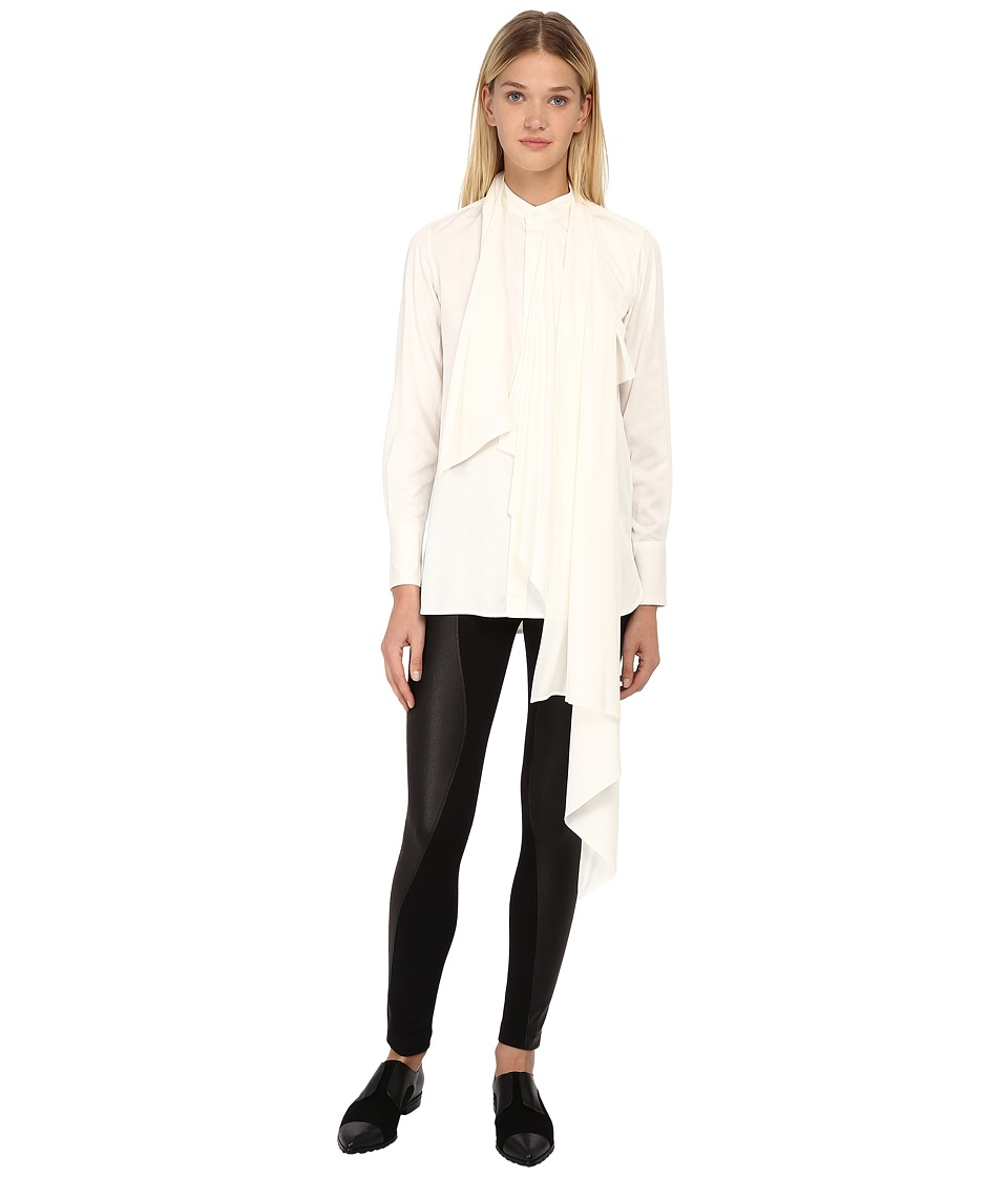 Y's by Yohji Yamamoto - YY-B46-230 (White) Women's Long Sleeve Button Up