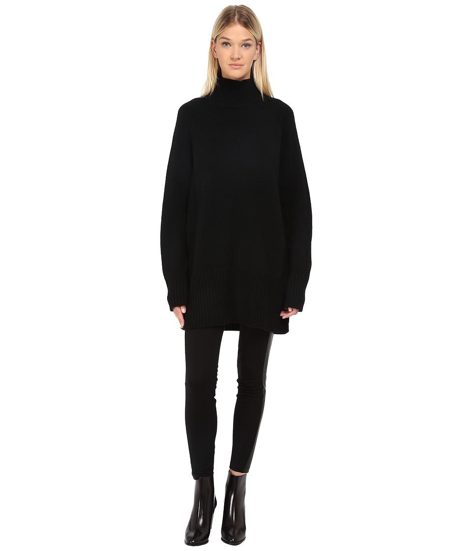Y's by Yohji Yamamoto - YY-K07-183 (Black) Women's Sweater