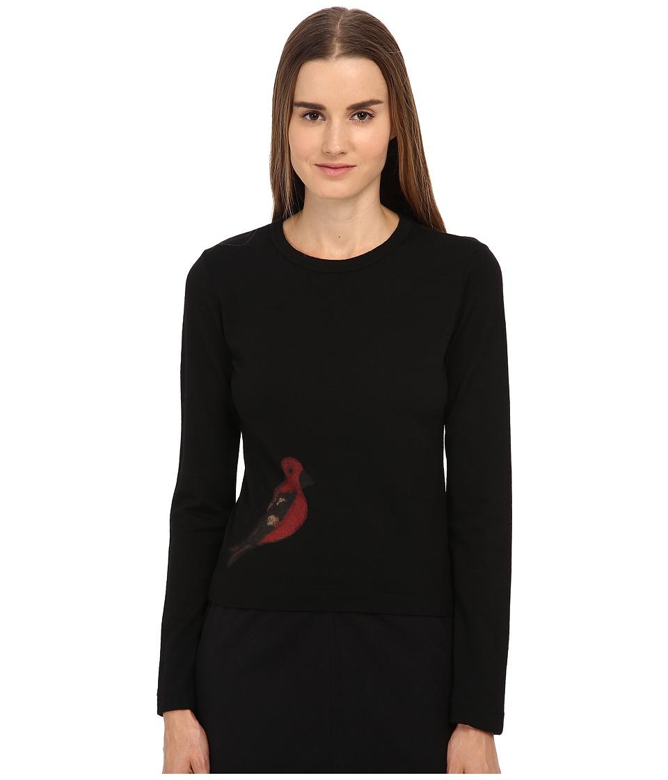 Y's by Yohji Yamamoto - YY-T98-171 (Black) Women's Sweater