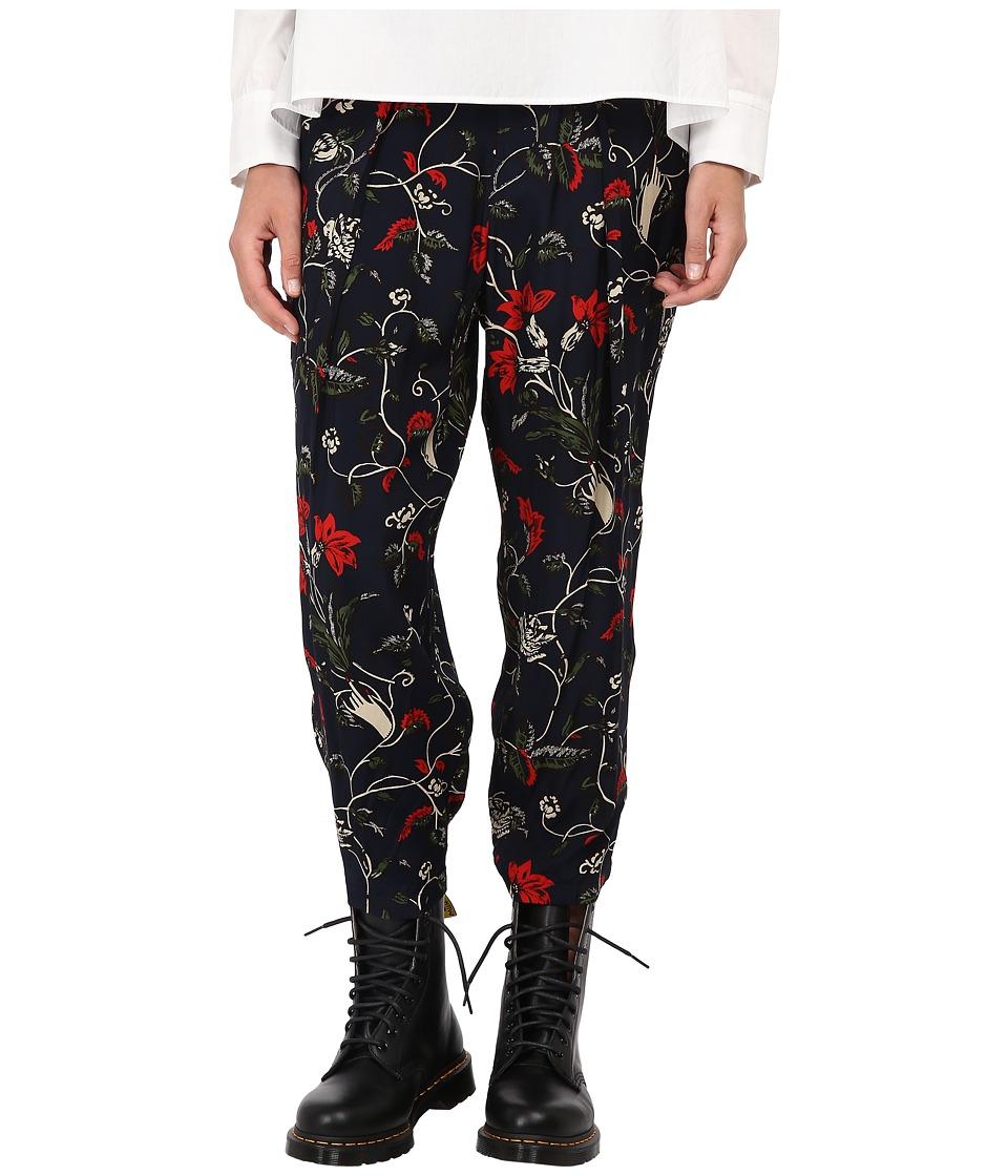 Y's by Yohji Yamamoto - YY-P52-233 (Black) Women's Casual Pants