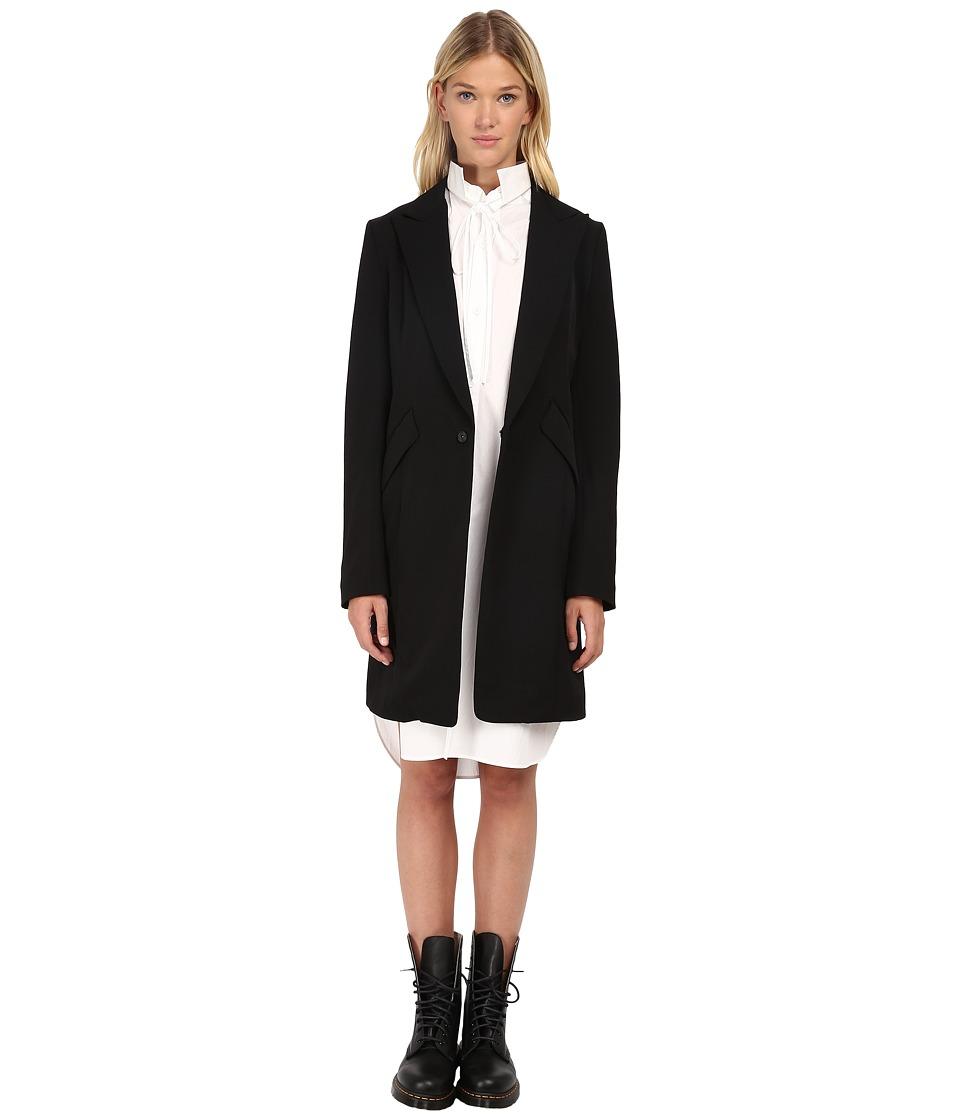 Y's by Yohji Yamamoto - YY-J05-100 (Black) Women's Jacket