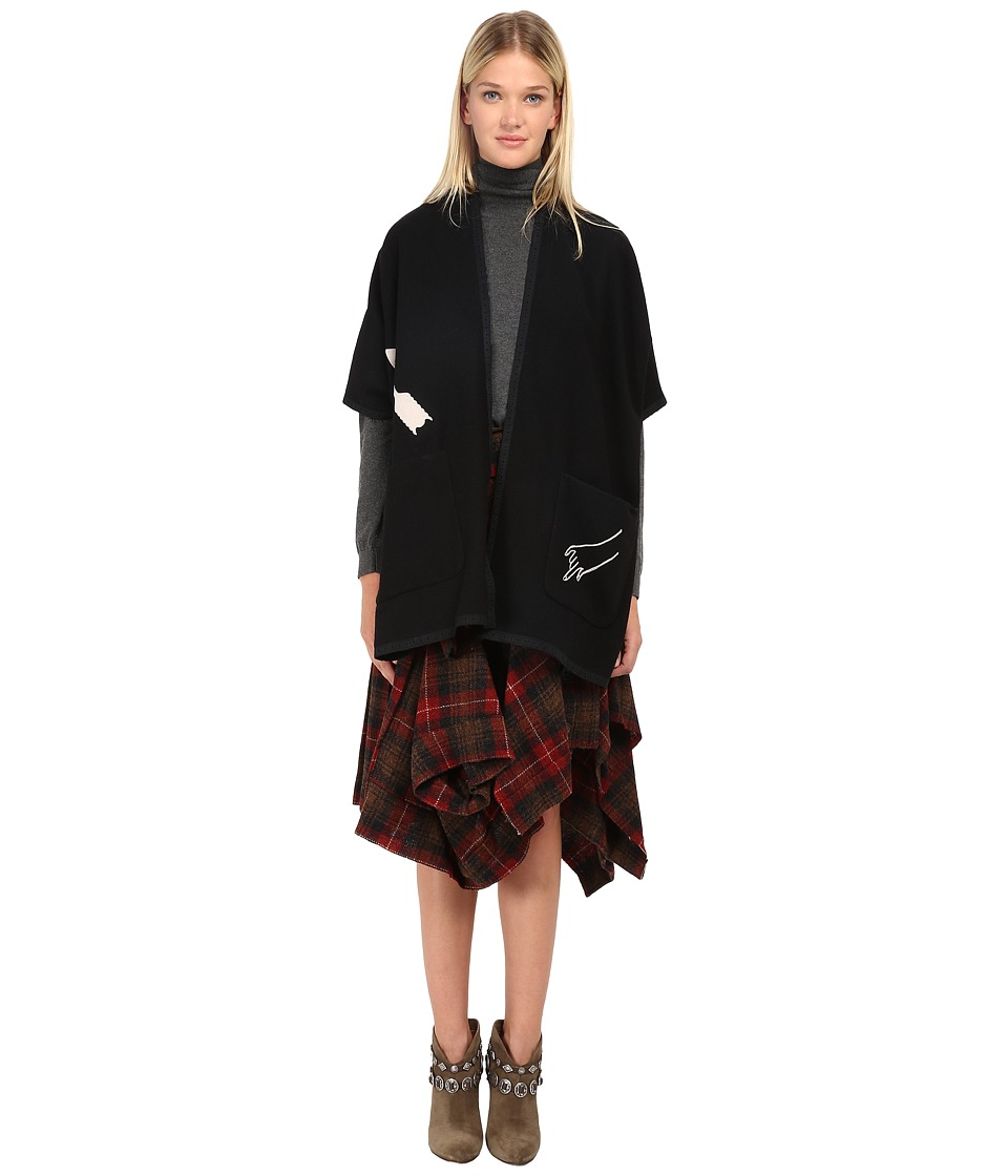Y's by Yohji Yamamoto - YY-C40-131 (Black) Women's Coat