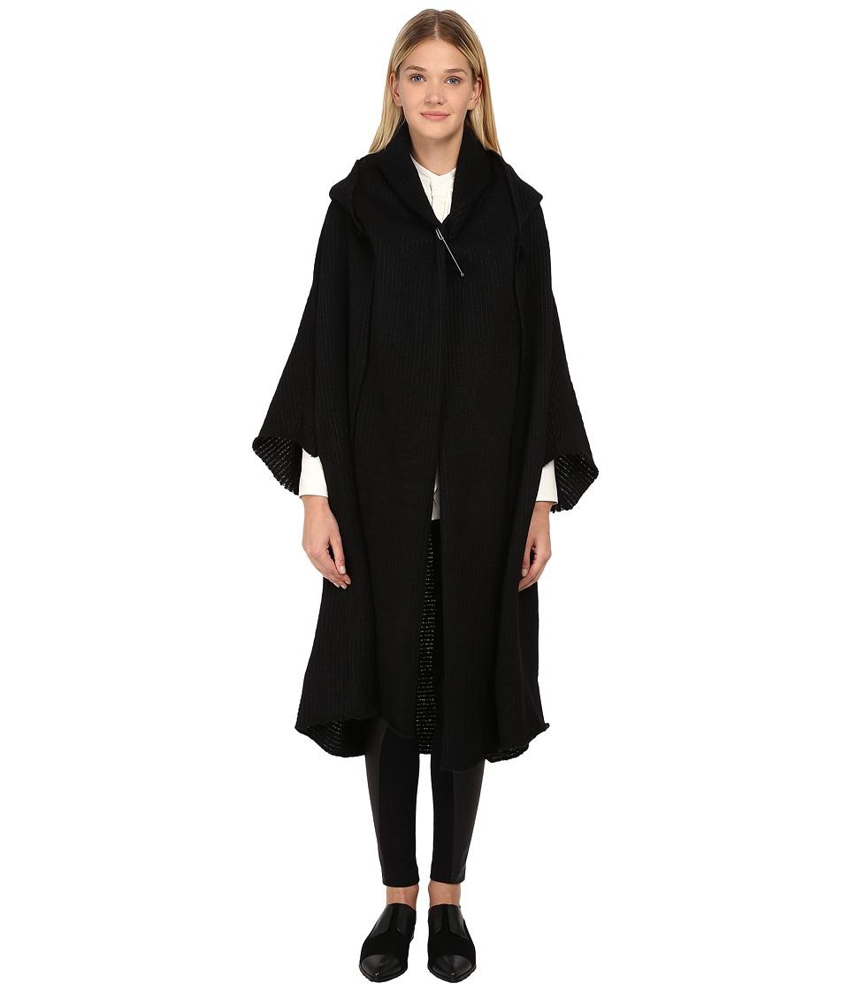 Y's by Yohji Yamamoto - YY-C30-117 (Black) Women's Sweater