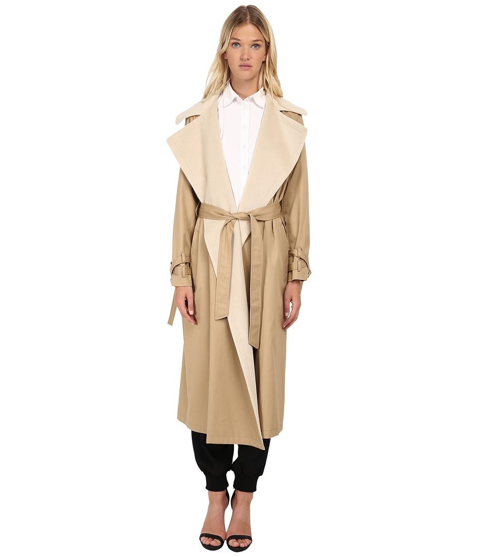 Y's by Yohji Yamamoto - YY-C46-831 (Beige) Women's Coat